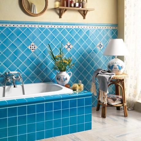 baie culoare albastra