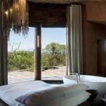 baie de lux dormitor matrimonial cabana privata de lux leobo africa de sud