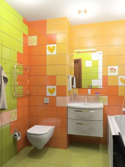 baie faianta portocalie vernil