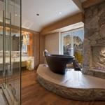 baie lux placata piatra naturala