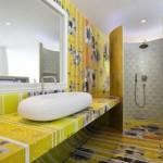 baie moderna galben