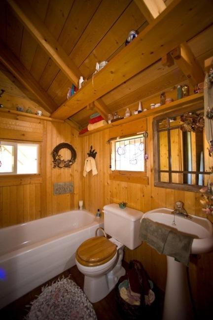 Baie Rustica Casa Din Lemn