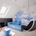 Fotoliul suspendat – o piesa de mobilier WOW pentru casa ta – GALERIE FOTO