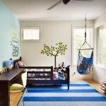 Fotoliul balansoar suspendat de interior – un element inedit in amenajarea casei