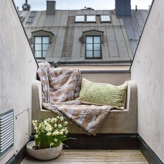 balcon amenajat