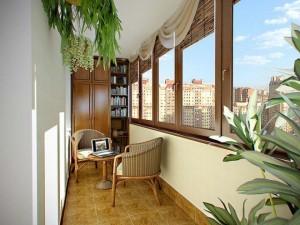 balcon apartament amenajat