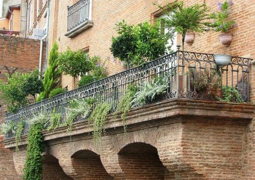 balcon mare terasa flori