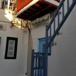 balcon mic casa traditionala Mykonos