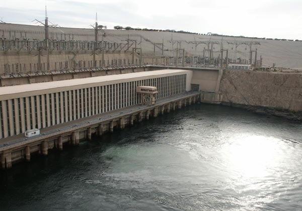 barajul Aswan High Dam