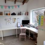 birou in fost garaj transformat in casa