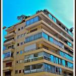 bloc apartament Cannes Franta vedere de afara