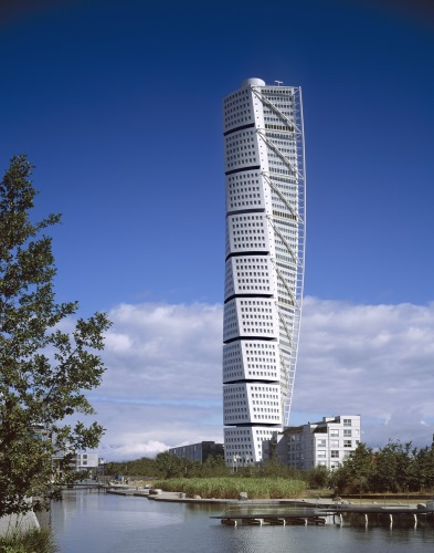 blocul turning torso malmo suedia