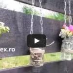 VIDEO: Decoratiuni din borcane pentru gradina sau balcon – DIY