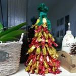 VIDEO: Cadou handmade de Craciun sau Revelion – bradut din sampanie si bomboane