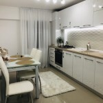 bucatarie apartament amenajata modern