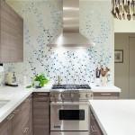 bucatarie decorata cu tapet decorativ superlavabil