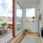 bucatarie moderna apartament mansarda