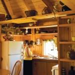 bucatarie open space casa lemn ieftina