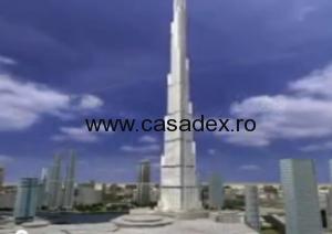 Burj Dubai, cea mai inalta constructie din lume. Video
