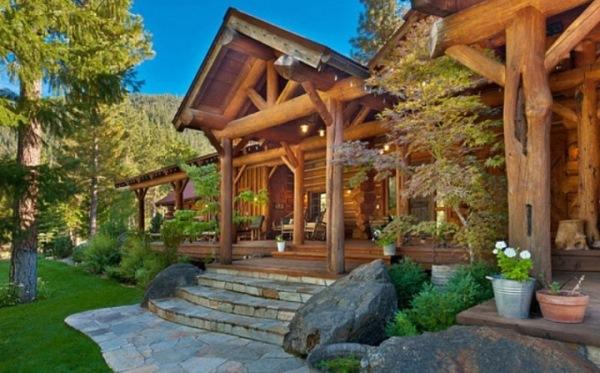 cabana busteni lemn california