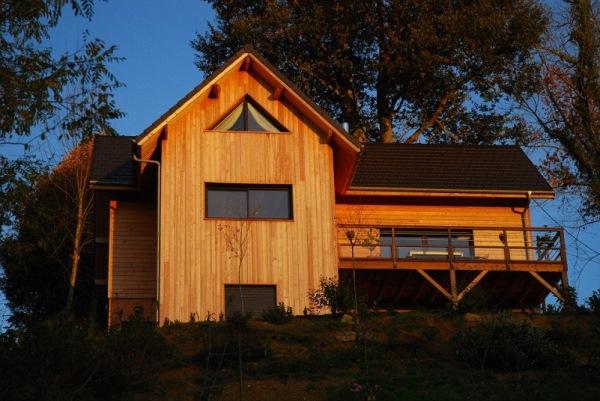 cabana din lemn pirinei franta