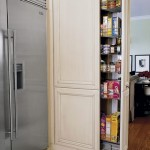 camara sertar vertical incastrat in perete bucatarie