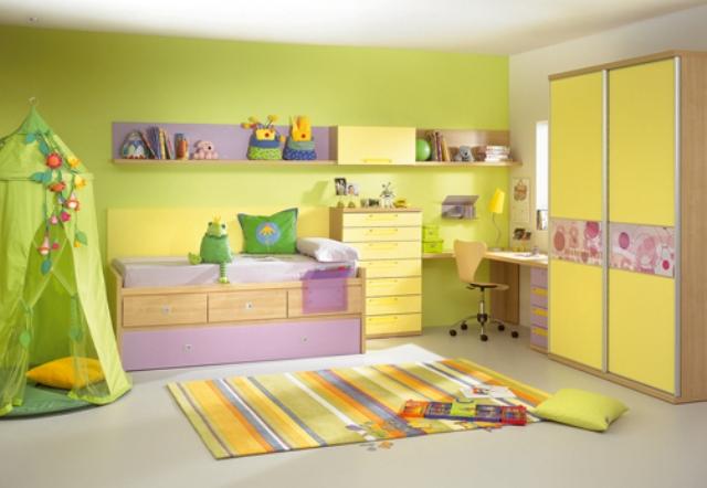 camera copii galbena