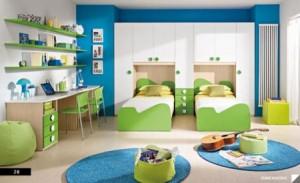 Amenajarea unei camere in care vor locui doi copii