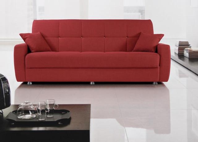 canapea dehusabila moderna rosie