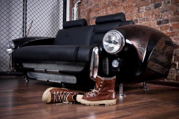 canapea din masina