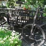 decoratiune caruta de gradina