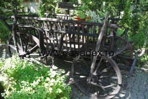 Caruta din gradina ta – element de decoratiune rustica