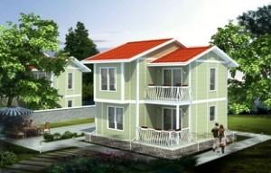 3 modele case cu etaj, suprafata totala 100 mp. Poze planuri