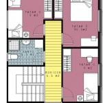 casa 2 plan etaj