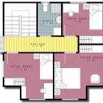 casa 3 plan etaj 3d