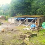 casa cu 3 dormitoare in timpul lucrarilor de constructie si renovare