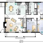 casa doar parter plan 105 mp