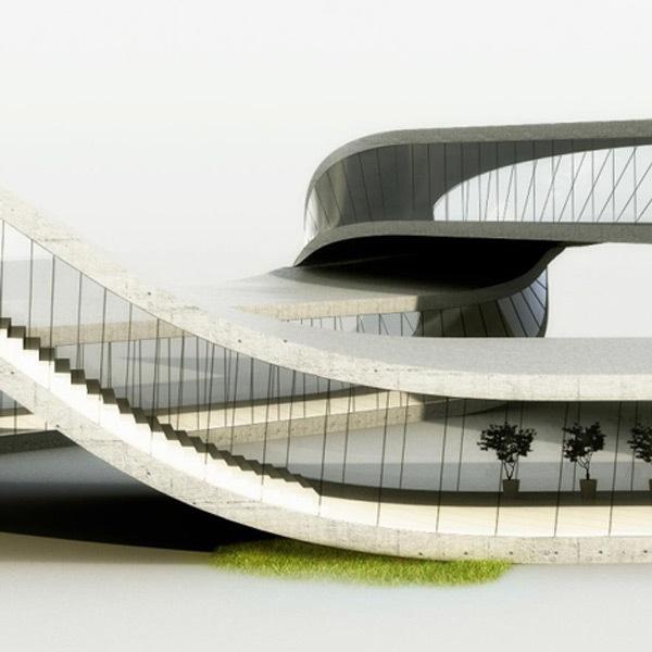casa landscape house 3d