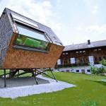 casa lemn imbracata in dranita ufogel tirol austria