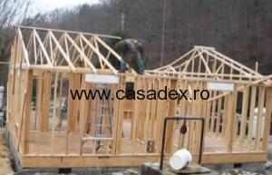 casa lemn parter