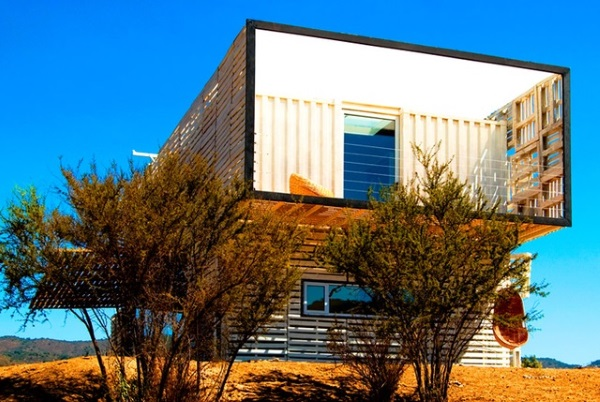 casa mare containere maritime Chile