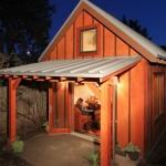 casa mica din lemn cu mini mansarda suprafata totala 38 mp