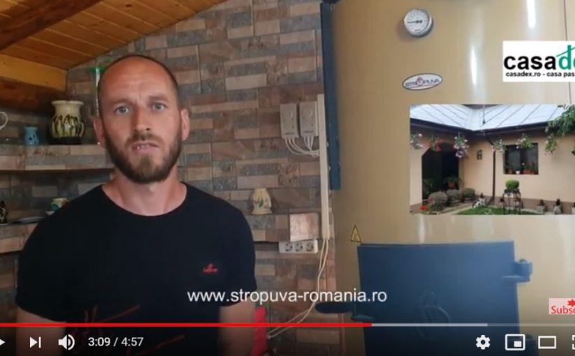 Casa si solarul incalzite cu o singura centrala Stropuva S40U