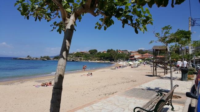 case pe plaja grecia