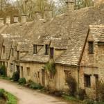 casute medievala piatra arlington row bibury cel mai frumos satuc din anglia