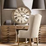 ceas decorativ vintage decor perete birou