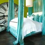ceas mare vintage decor perete dormitor