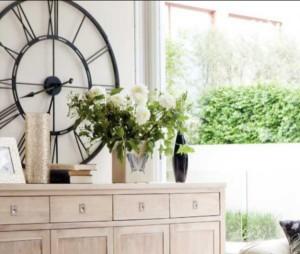 ceas mare vintage perete element decor living stil country