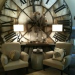 ceas urias vintage decor spectaculos perete living