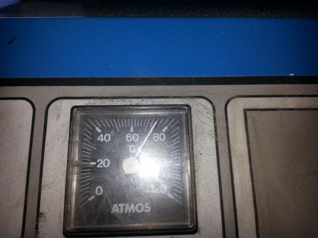 centrala atmos temperatura nu sare de 75 grade
